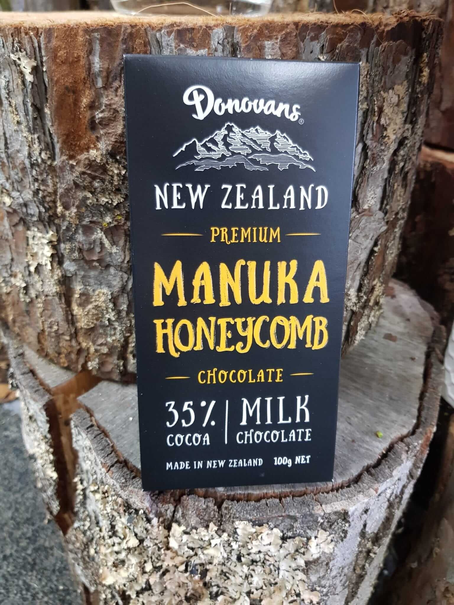 Manuka Honeycomb Donovans Chocolate